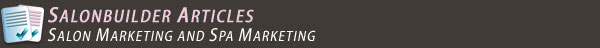 Salon Marketing and Spa Marketing
